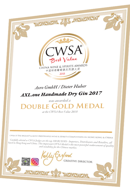 Urkunde-axl-one-cwsa-double-gold